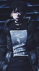 *AFK* (Drawans) Tags: secondlife second life meshhead boy korean 6doo emo male mesh head taketomi mandala
