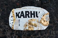 Karhu (pni) Tags: beer ipa can karhu bear ground pavement surface trash whatremains helsinki helsingfors finland suomi pekkanikrus skrubu pni