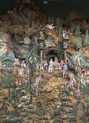 Papierkrippe: Anbetung der Hirten (ISARSPARER) Tags: papierkrippe krippe adoration böhmen nativityscene