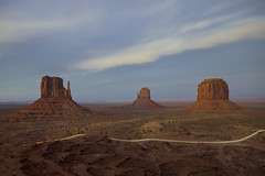 monumental (s.f.p.) Tags: monument valley utah usa john wayne spot wild west western mountain range nature scenic view long exposure sunset us national park navajo trail scenery hill landscape natural