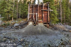 Back from whence it came (LoneWolfMontana) Tags: hdr comet ghost town abandoned neglected nature canon photomatix