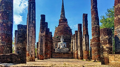 Sukhothai (juanmzgz) Tags: tailandia shukotai budismo buda escultura monumento historia parquehistórico