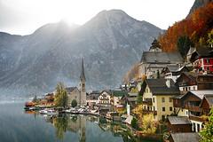 Hallstatt (Matej Rajtár) Tags: hallstatt austria osterreich view panorama village famous lake reflection autumn fall colors colours