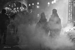 light (albyn.davis) Tags: quebec smoke cold weather silhouettes blackandwhite atmosphere canada travel night light