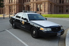 TEXAS DEPARTMENT OF PUBLIC SAFETY - Ford Crown Victoria Police Interceptor (amiral-vb) Tags: texas police cvpi state trooper ford crown victoria capitol austin