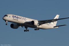OH-LWB 0302 copy (Baz Aviation Photo's) Tags: ohlwb airbus a350941 finnair heathrow lhr egll 27l ay1331