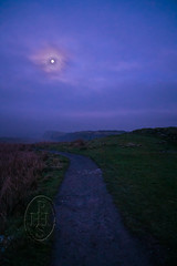 Moon Over Moorland Holding Hadrian's Wall 1 of 4 (PHH Sykes) Tags: hadrian's wall roman rome emperor moon steel rigg henshaw northumberland once twice brewed inn bardon mill scotland