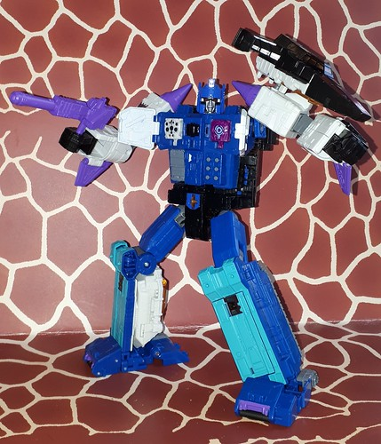 Decpticon Overlord -with/mit Dreadnaut Titanmaster - Titans Return Serie ☆☆☆