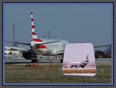 DFW airport, now and then (MoparMadman63) Tags: collage framed airport dfwairporttx texas aircraft airplanes 19812018 taxiway departure
