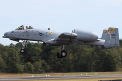 """78-684 - United States Air Force Fairchild A-10C Thunderbolt II """"Warthog"""" (AndrewC75) Tags: airport airplane aircraft aviation airshow rmg rome wingsovernorthgeorgia wong wong2018 usaf united states air force fairchild a10 a10c thunderbolt warthog demo twin jet warbird"""