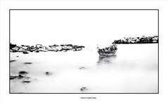 Secret World ... (michel di Méglio) Tags: highkey bw marseille monochrome mer sea