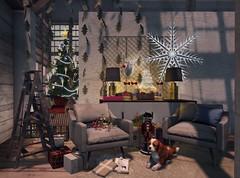 Ho Ho Holiday Happiness (AGodenot) Tags: scarletcreative anc artisanfantasy astralia convair eve foxwood geist kunstkraftwork laqdecor lode shinyshabby collabor88 loftaria madpea pewpew zerkalo