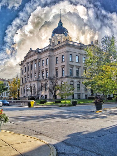 Bloomington Illinois  -  The McLean County Museum of History -  AKA -  Former County Courthouse
