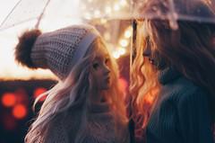 under umbrella I (AzureFantoccini) Tags: bjd abjd doll umbrella autumn outdoor street balljointeddoll supia supiadoll jiin granado ozin5 emon portrait bokeh romance