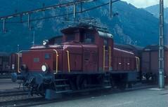 SLMNr 2836 : SBB Rangierlokomotive Ee 3/4 16301 ( Hersteller SLM Nr. 2836 - Baujahr 1922 - Foto Mario Stefani 09.08.77 ) am Bahnhof Erstefeld an der Gotthard Nordrampe der Gotthardbahn im Kanton Uri der Schweiz (chrchr_75) Tags: christoph hurni schweiz suisse switzerland svizzera suissa swiss chrchr chrchr75 chrigu chriguhurni schweizer bahnen albumbahnenderschweiz albumbahnslmschweizerischelokomotivundmaschinenfabrikwinterthur slm slmnr eisenbahn bahn train treno lokomotive triebfahrzeug albumzzz201811november november 2018 chriguhurnibluemailch