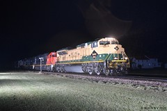 Black Diamonds On The Green Diamond (R.G. Five) Tags: ns heritage 1067 reading chicago central illinois lena il train railroad