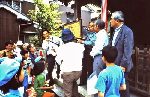 History walking tour, central Takefu city, Fukui prefecture