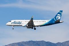 Alaska Airlines (Horizon Air) Embraer ERJ-175 N639QX (jbp274) Tags: ont kont airport airplanes alaskaairlines horizonair horizon qx embraer erj175 e175