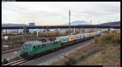 TECO en El Papiol (javier-lopez) Tags: ffcc railway train tren trenes adif comsa mercancías teco cargometro contenedor contenedores fgc ferrocarrilsdelageneralitatdecatalunya seat tmd tecodemediadistancia 601 bitrac sgnss martorell barcelonacantunis martorellseat elpapiol 14012019