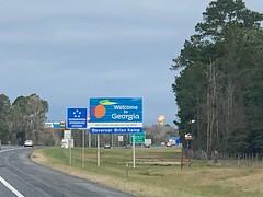 FL/GA border (loonyhiker) Tags: 2019january 2019 border