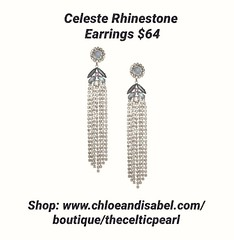 Today's Featured Item: Celeste Rhinestone Earrings $64 Shop: https://www.chloeandisabel.com/boutique/thecelticpearl/products/E547BLRH/celeste-rhinestone-earrings  Calling all tastemakers! Introducing our Celeste Rhinestone Earrings, the statement-making s (thecelticpearl) Tags: love trending new shop trend crystal buy lifetime featured product guarantee amethyst chloeandisabel gold daily trendy rhinestone blueopal montana antique trends sapphire rhodium shopping earrings jewelry holiday2k18 crystals glass boutique sparkle accessories thecelticpearl quartz grey blue holiday celeste ootd candi opal online style fashion