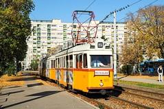 3873+6010+3898 l Örs vezér tere l 04.11.2018 (Richard Woodhead) Tags: budapest hungary tram ganz villamos strassenbahn revolution 1956 uv tramway bkv