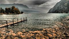Riva  del Garda (Ostseetroll) Tags: geo:lat=4588314440 geo:lon=1084437180 geotagged ita italien lagodigarda rivadelgarda trentinoaltoadige lagodelgarda wasser berge water mountains lake olympus em10markii