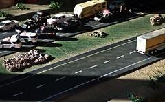 Checkpoints  11-25-2018 (THE RANGE PRODUCTIONS) Tags: greenlight modellayout model modular maisto welly hoscalefigures speccast swift tractortrailer truck 18wheeler 187scale 164scale fordpoliceinterceptorutility fordcrownvictoriapoliceinterceptor dodgechargerpursuit unmarked trailer rv traveltrailer