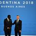 Bienvenida Oficial - Ministro de Economía y Finanzas de Senegal, Amadou Ba