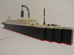 RMS Olympic Fitting Out 1 (Cormac2000) Tags: olympic titanic rms lego white star line ship hmt 1911 ocean liner belfast