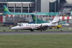 M-MEVA Citation 560 Ultra (eigjb) Tags: dublin airport eidw international collinstown jet transport bizjet executive business plane spotting aviation aircraft airplane aeroplane 2019 mmeva citation c560 ultra cessna