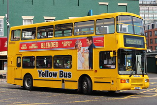 GO NORTH EAST 3828 S828OFT IS SEEN IN NEWCASTLE ON 7 JUNE 2014