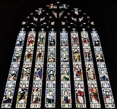 Stained glass windows (Will S.) Tags: stainedglass windows stainedglasswindows mypics paisleyabbey paisley abbey scotland churchofscotland presbyterian church churches unitedkingdom protestant christian christianity presbyterianism protestantism reformed