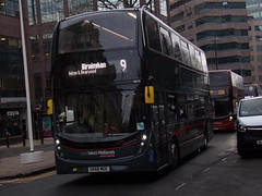 "National Express West Midlands ADL Enviro 400 MMC (ADL E40D) 6916 ""Ashleigh Louise Elizabeth"" SK68 MGE (Alex S. Transport Photography) Tags: bus outdoor road vehicle nationalexpress nationalexpresswestmidlands nxwm adlenviro400mmc enviro400mmc e400mmc e40d adltrident2 route9 6916 ashleighlouiseelizabeth sk68mge"