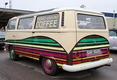 DAF 982K (2) (Nivek.Old.Gold) Tags: 1972 volkswagen camper 1584cc earlybay mobile coffee bar eama burcham