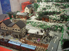 DSC05035 (fdsm0376) Tags: lego exposition madrid 2018 castle roma winter village city ww2
