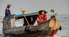 Go to the market (fredericpecheux) Tags: floating market boat river mekong vietnam asia canon happyplanet asiafavorites