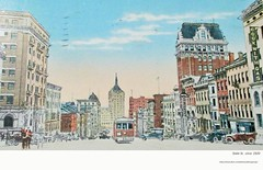 state st from eagle  circa  1920 (albany group archive) Tags: 1920s old albany ny vintage photos picture photo photograph history historic historical