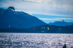 Andrew's dream of a kite surfing downwinder on Lago Correntoso.