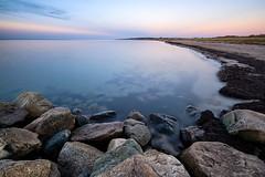 Small Sad Voices. (icarium.imagery) Tags: fujifilmxt3 fujinonxf1024mmf4rois ostsee balticsea ocean sea stones beach bluehour leefilters littlestopper longexposure water sunset
