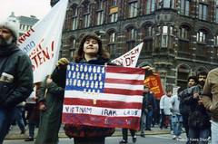 golfoorlog_jan-91-4 (k.stoof1) Tags: demonstration demonstratie gulf war golfoorlog amsterdam