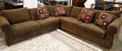 Nice brown sectional ($728)