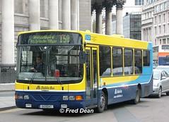 Dublin Bus WV47 (01D10047). (Fred Dean Jnr) Tags: april2005 dublin dublinbus busathacliath dublinbusyellowbluelivery collegegreendublin dublinbusroute150 wv47 rend 01d10047 volvo b6ble wright wrightbus crusaderii