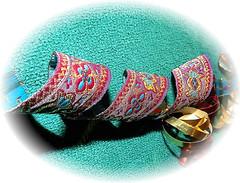 "Ribbon    ""SPIRALS"". (marieschubert1) Tags: ribbon curls presents wrapping bows christmas fabric spirals smileonsaturday"