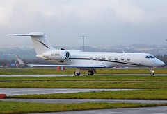 N175NH Gulfstream 550 (Gerry Hill) Tags: glasgow air airport gerry hill scotland d90 d80 d70 d7200 d5600 bridge nikon aircraft aeroplane international airline egpf airplane transport aircraftstock airplanestock aviationstock businessjetstock bizjetstock privatejetstock jetstock biz bizjet business jet corporate businessjet privatejet corporatejet executivejet jetset aerospace fly flying pilot aviation plane apron photograph pic picture image stock n175nh gulfstream 550