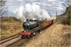 63601. Quorn. (Alan Burkwood) Tags: gcr quorn robinson 8k 04 63601 steam locomotive freight train