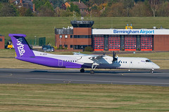 G-JECP (hartlandmartin) Tags: gjecp flybe bombardier dhc8402q400 bhx egbb birmingham elmdon landing aircraft airline airport aeroplane flight aviation plane transport