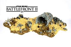 Finally finished my Star Wars Battlefront 2 Jakku MOC :) (First Order Lego) Tags: lego moc starwars cool epic jakku legobattlefront2