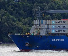 EM Spetses - IMO 9403413 (J. Trempe 3,490 K hits - Merci-Thanks) Tags: stefoy quebec canada ship navire fleuve rive stlaurent stlawrence transportation conteneur container spetses