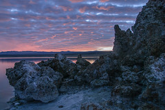 20140123_mono_lake_001 (petamini_pix) Tags: monolake california tufa sunrise lake reflection sky dramaticsky clouds landscape water